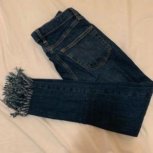 Topshop Fringe Jamie Jeans